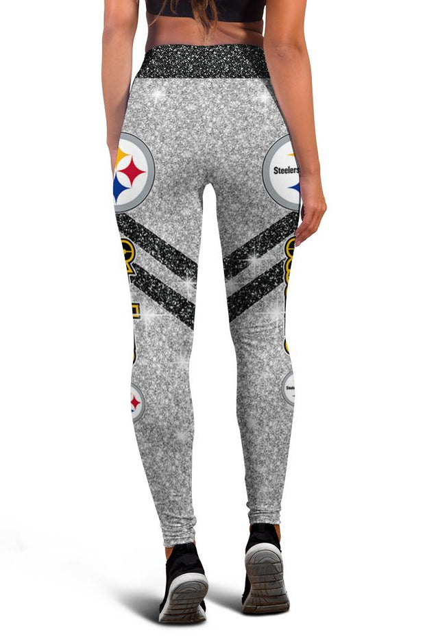 Pittsburgh Steelers Limited Edition 3D Printed Leggings
