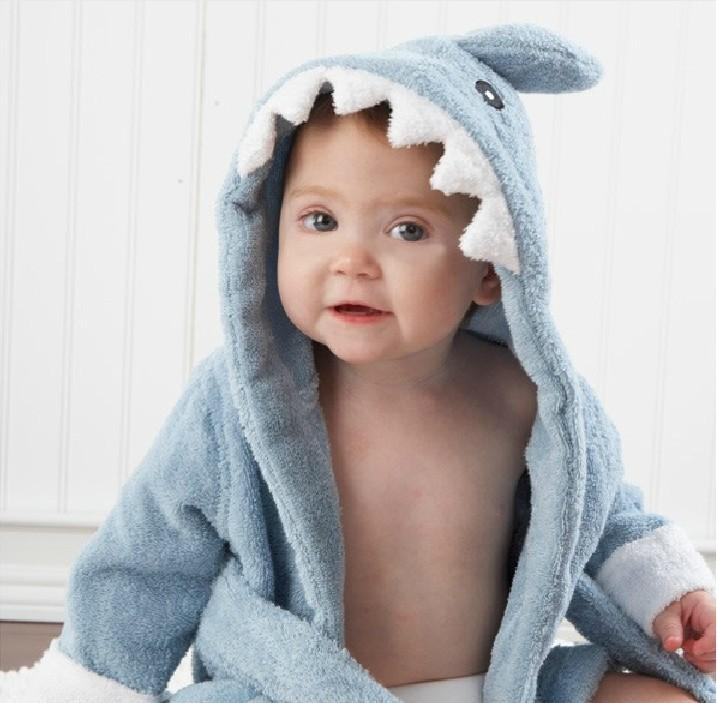 BABY COTTON BATHROBES
