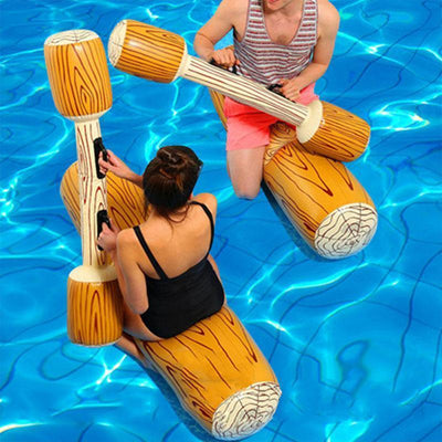 LOG FLUME JOUST POOL GAME SET