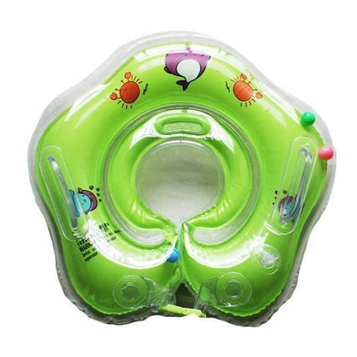 Inflatable Water Baby Safety Neck Floatie Tube Ring
