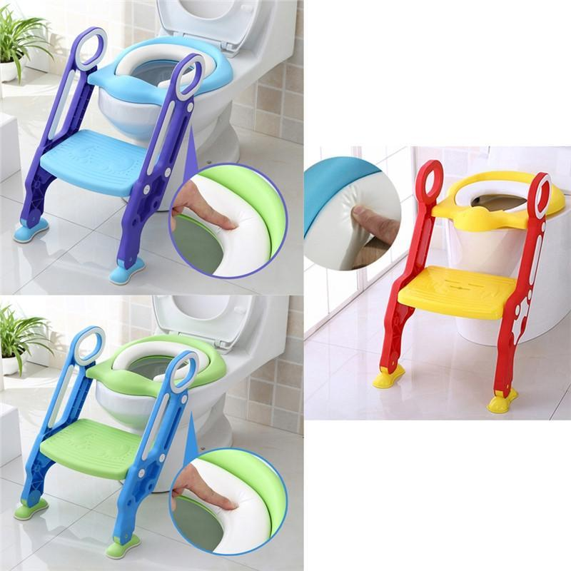 BABY FOLDABLE POTTY TRAINING TOILET CHAIR