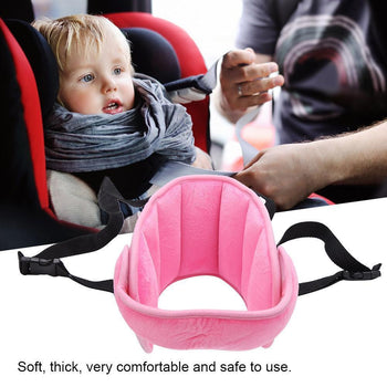 Child Car Seat Head Support Pillow