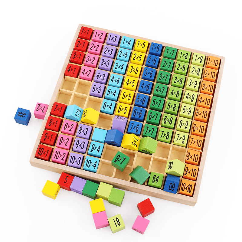 Wooden Multiplication Toy