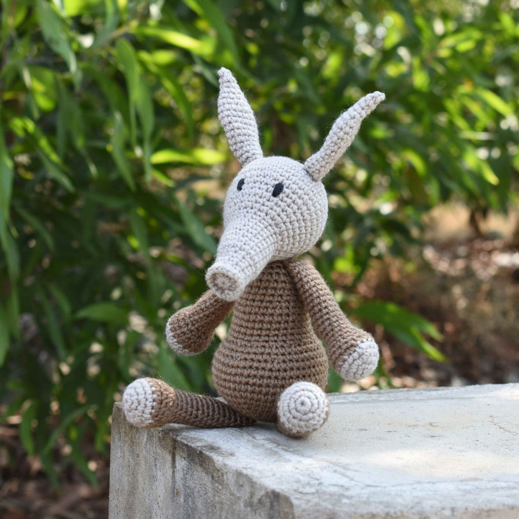 Aardvark Crochet Animal
