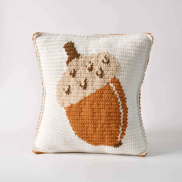 Acorn Crochet Pillowcase