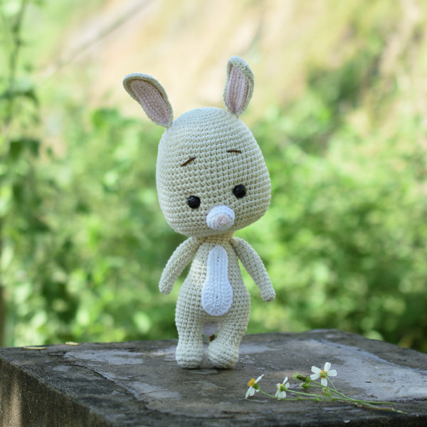 Amigurumi Rabbit, Little Bunny Crochet, Plush Toy for Kid, Handmade Crochet Rabbit, Winnie The Pooh Gift