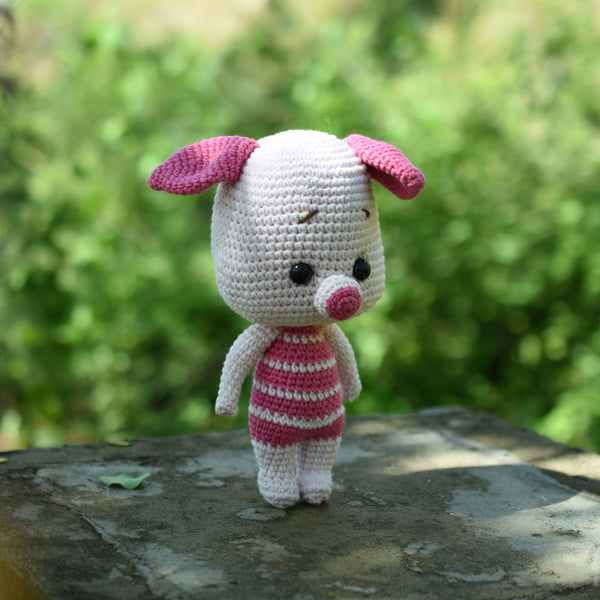 Amigurumi Piglet, Little Pig, Crochet piglet, Cute piglet, Stuffed Animal, Winnie The Pooh Gift
