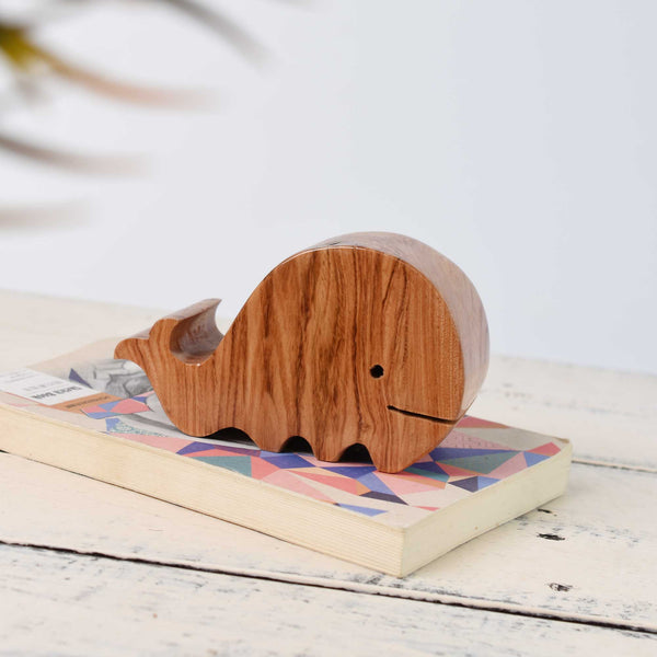 Wooden Whale Presse-Papier - Whale Wood Paperweight - Office gift- Home Decoration