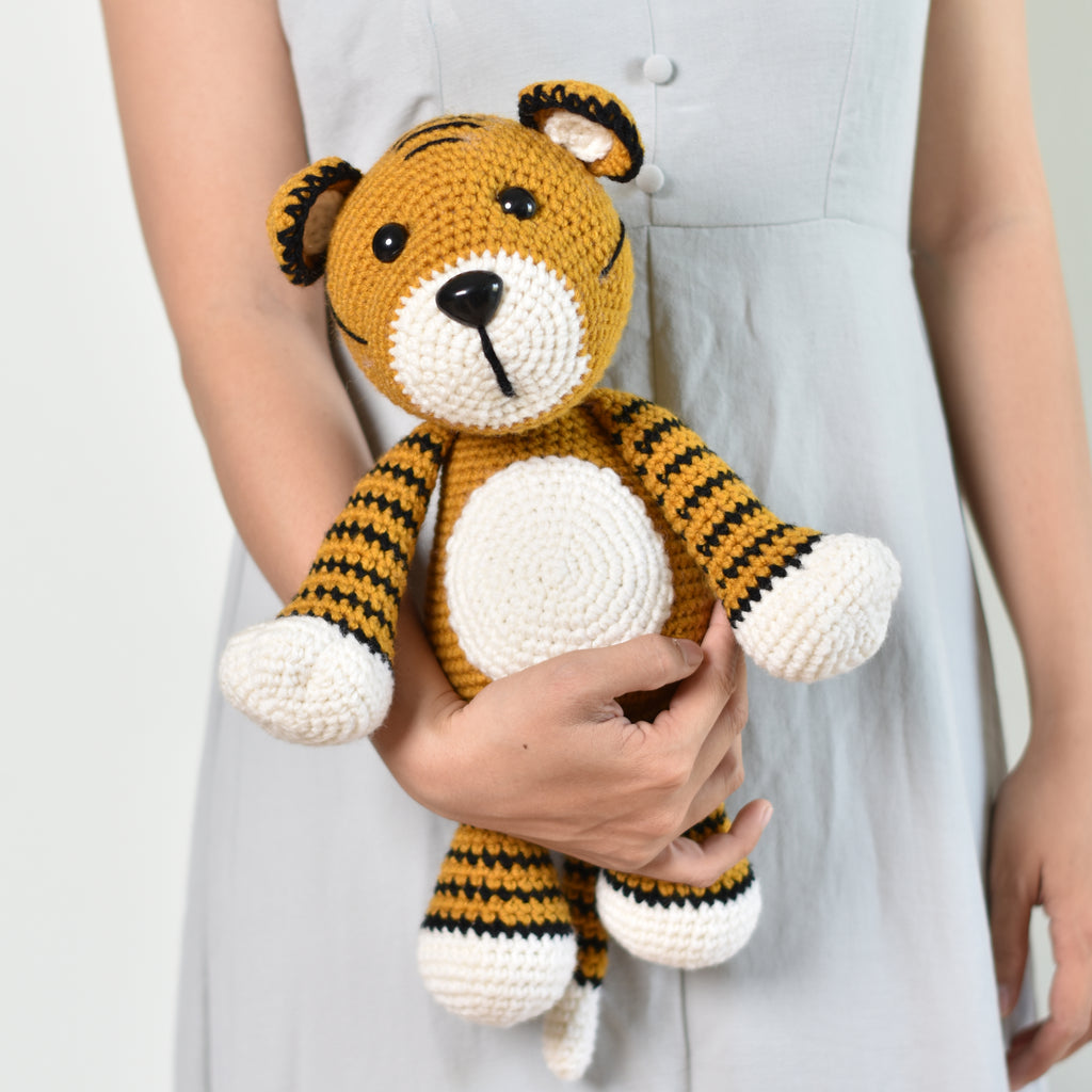 Big Tiger, Crochet Toy Tiger, Amigurumi Tiger, Plush Tiger, Crochet Animal - SaiGonDoll