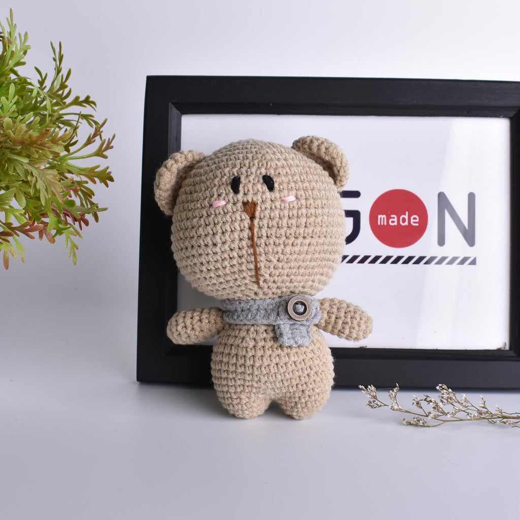 Tubby Bear Crochet Handmade Amigurumi Stuffed Toy Doll High Quality - SaiGonDoll