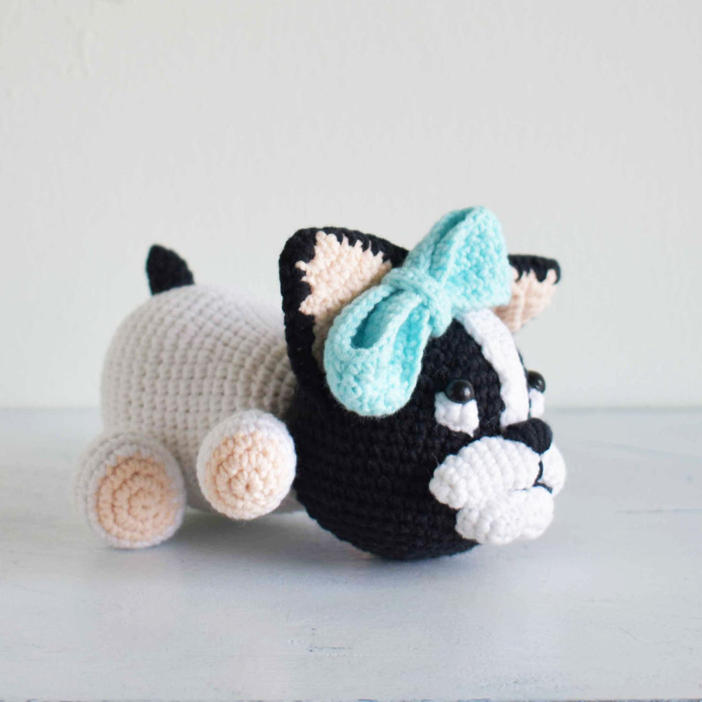 Lazy Dog, Crochet Dog, Dog Amigurumi, Stuffed Animal, Crochet Toy,Hand Made Gift - SaiGonDoll