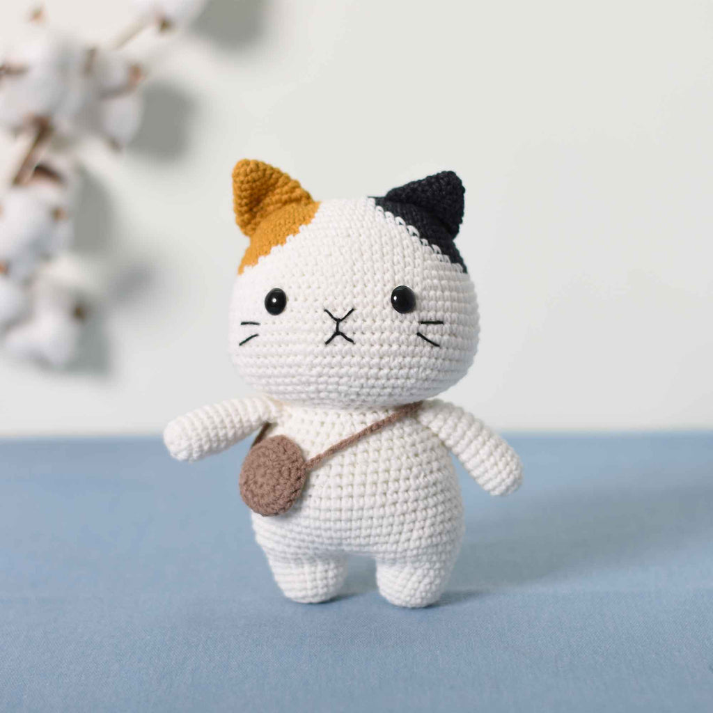 Amigurumi Crochet Cat Doll - Crochet Kitten - Cats Dmigurumi - Cat Doll - Gift - SaiGonDoll
