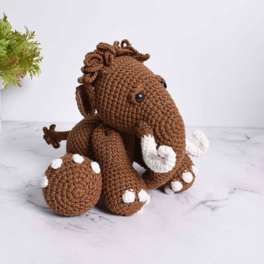 Mammoth Stuffed Animal, Mammoth Plush Toy, Baby Gift, Handmade With Love - SaiGonDoll
