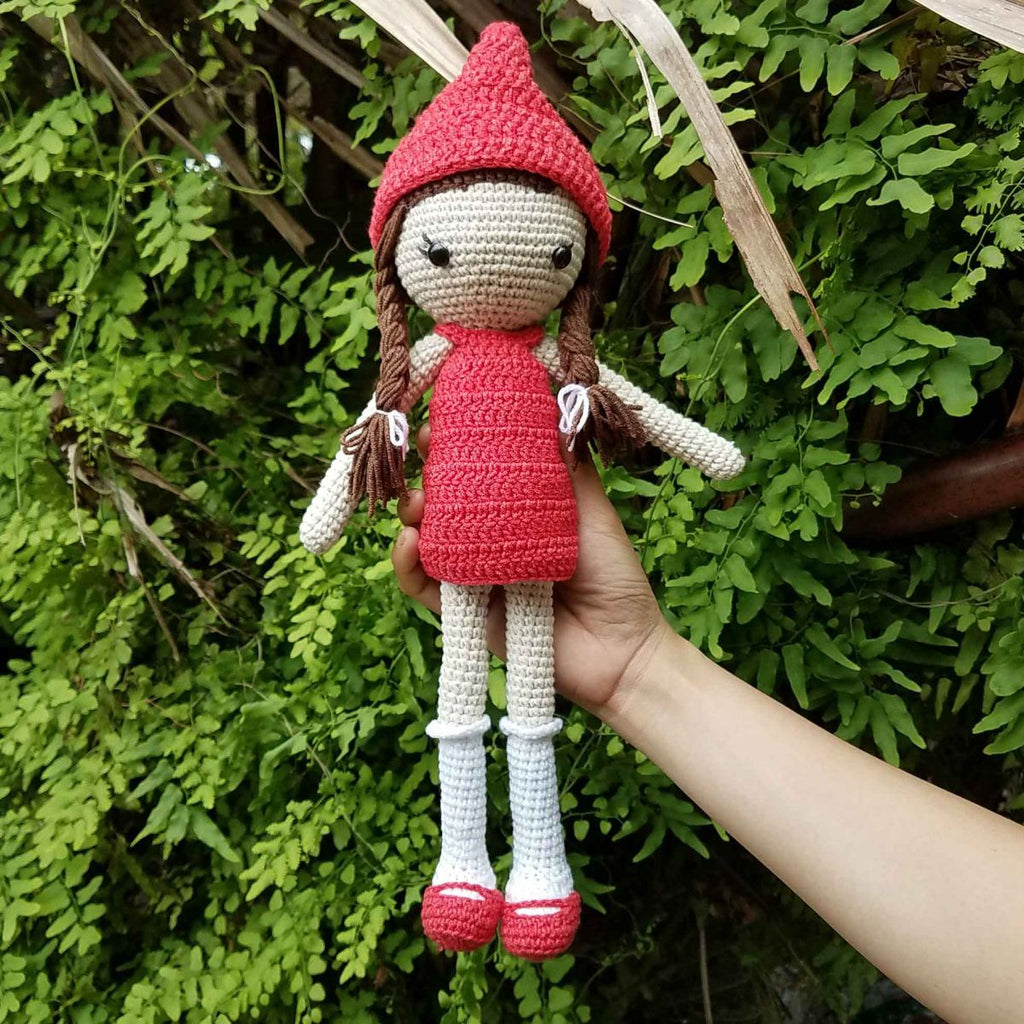 Beautiful Girl Crochet Model, Stuffed Doll, Baby Shower & First Birthday Gift - SaiGonDoll