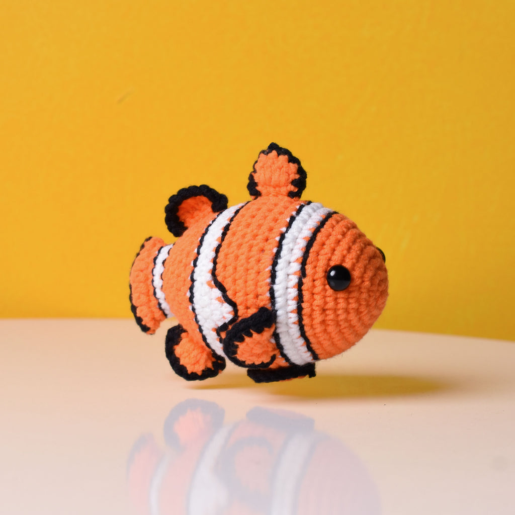 Stuffed Crochet Clown Fish - Finding Nemo Clownfish Amigurumi - A special gift for children
