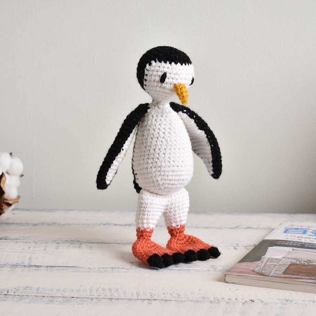 Penguin Bird, Crochet Bird, Stuffed Animal, Hand Made Gift To Kid, High Quality - SaiGonDoll