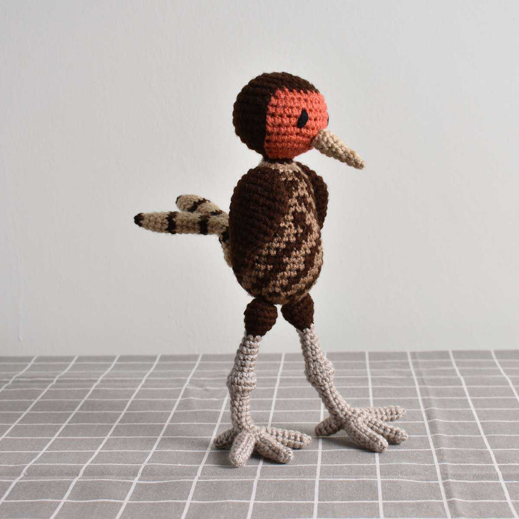 Pheasant Bird, Crochet Bird, Stuffed Animal,Hand Made Gift To Kid, High Quality - SaiGonDoll