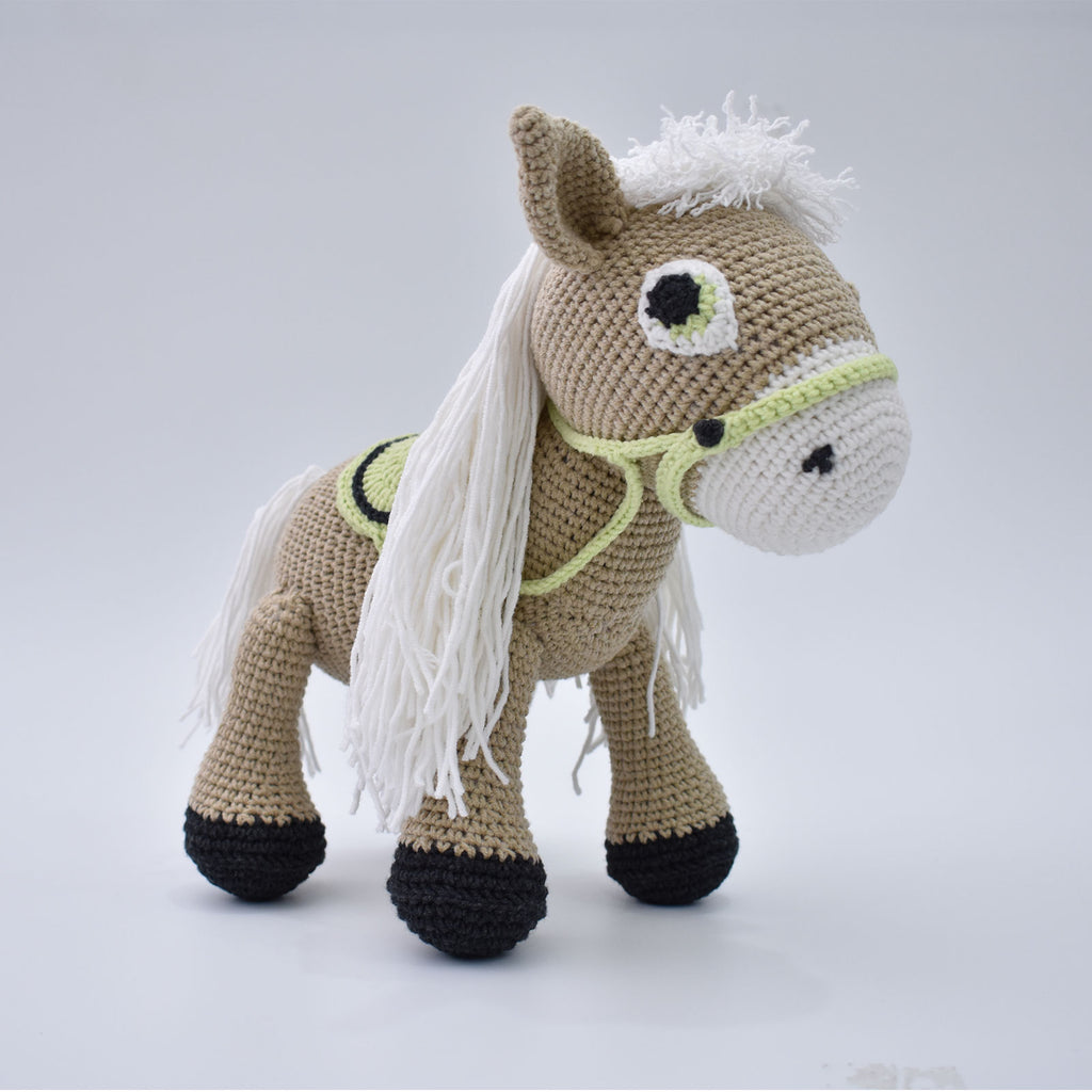 Pony Horse Handmade Amigurumi Stuffed Toy Knitting Crochet Doll High Quality !!! - SaiGonDoll