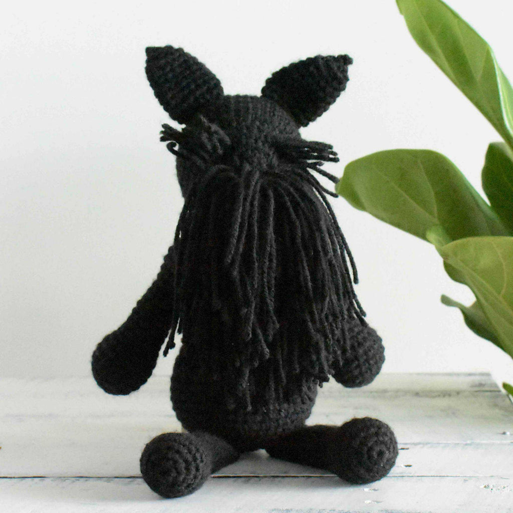 Crochet Scottish Terrier Dog Amigurumi Animal Stuffed Toy Crochet Newborn Gift - SaiGonDoll