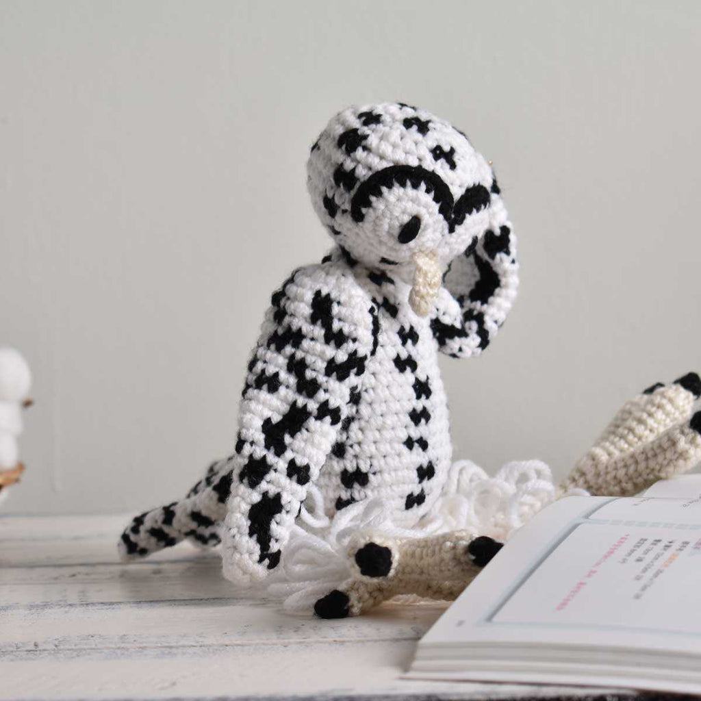 Snowy Owl, Crochet Bird, Stuffed Animal,Hand Made Gift To Kid, High Quality Toy - SaiGonDoll