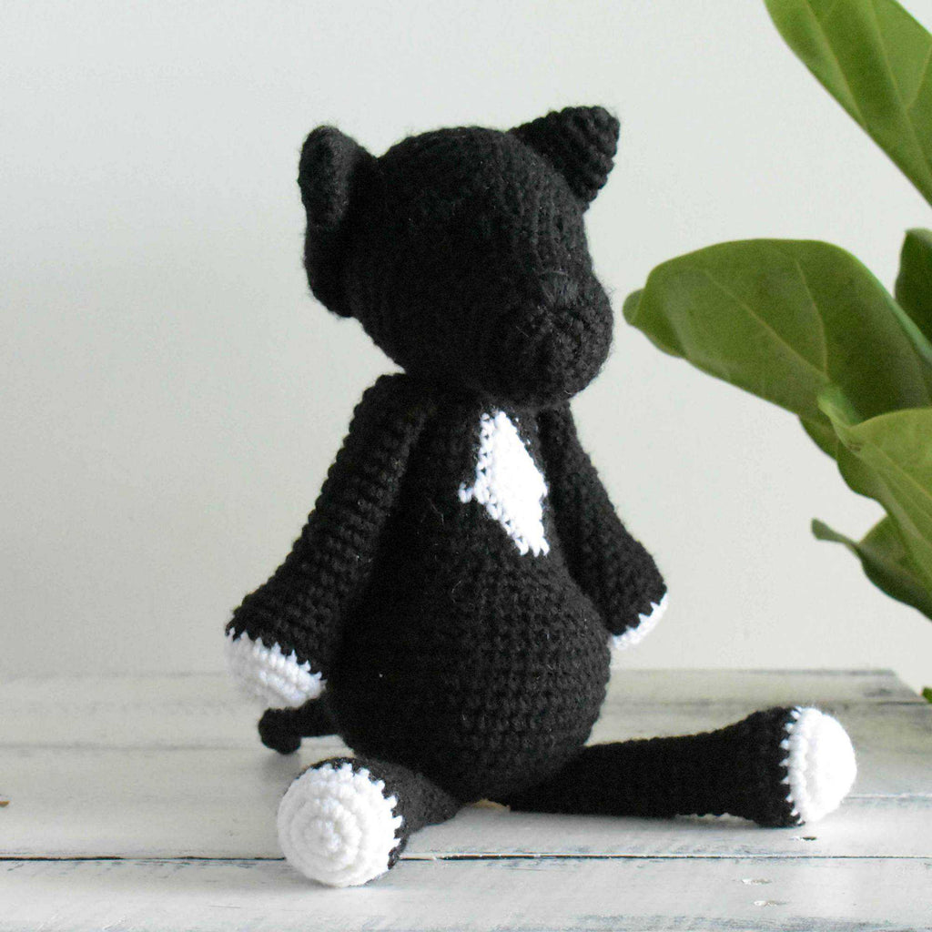 Staffordshire Bull Terrier Crochet Dog Amigurumi Stuffed Dog Animal Crochet Toy - SaiGonDoll