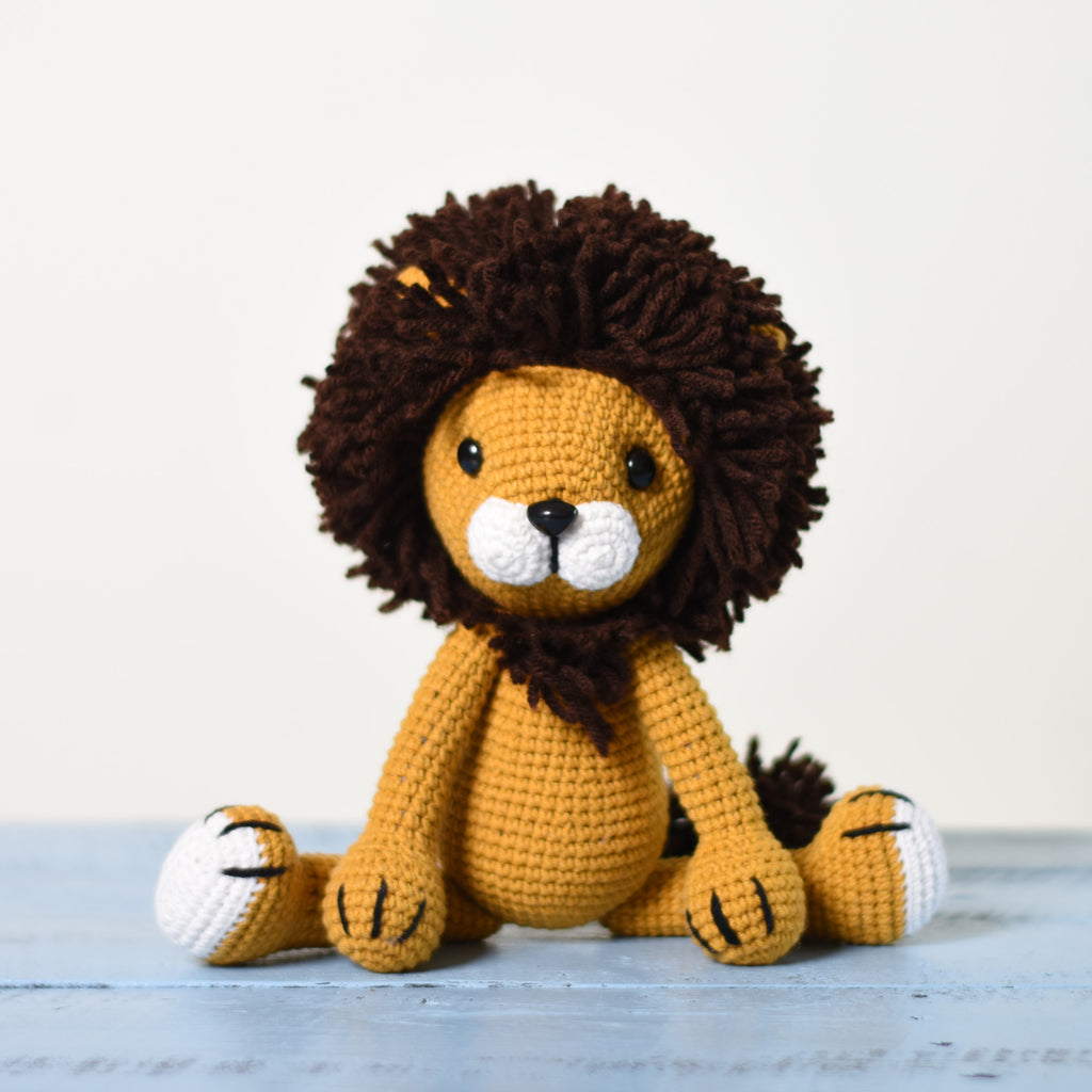Amigurumi Lion, Stuff LionToy, Crochet Lion,Crochet Toy For A Newborn Or Child - SaiGonDoll