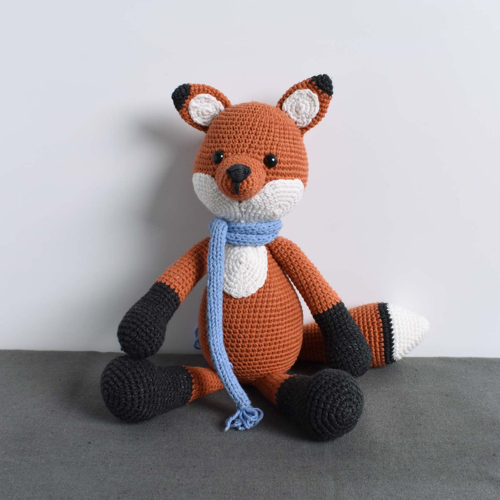 Winter Fox - Amigurumi Wild Animal - Fox Crochet - Stuffed Toy - High Quality - SaiGonDoll