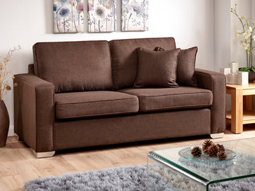New York 3 Seater Sofa | Quick Click Furniture London