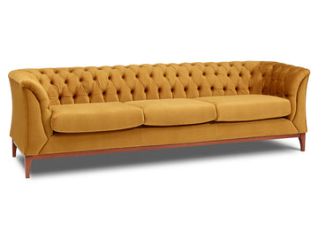 Chesterfield Modern 3 Seater Sofa | Quick Click Furniture London