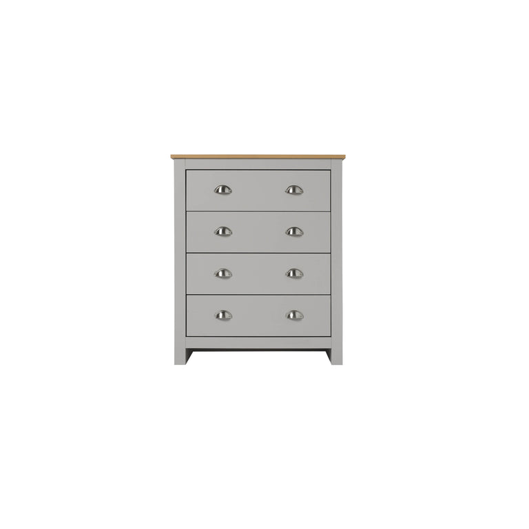 Lancaster 4 Drawer Chest | Quick Click Furniture London