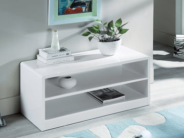 Manhattan Compact TV Stand | Quick Click Furniture London
