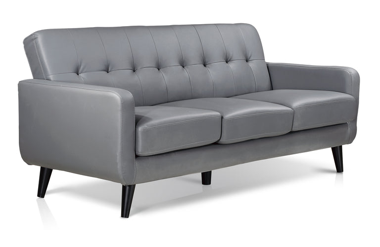 Oslo PVC 3 Seater Sofa | Quick Click Furniture London
