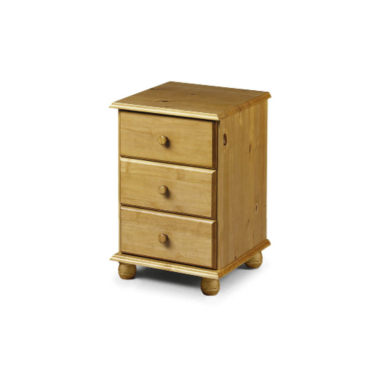 Pickwick 3 Drawer Bedside | Quick Click Furniture London