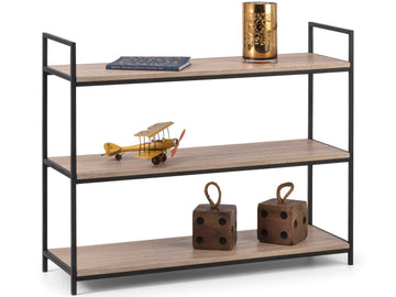 Tribeca Low Bookcase | Quick Click Furniture London