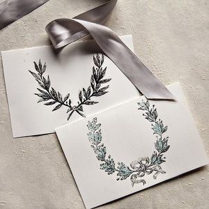 Laurels - Clear Stamp - 12x12
