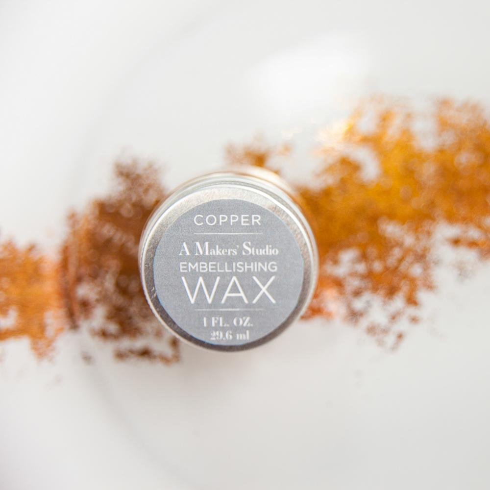 Copper Embellishing Wax