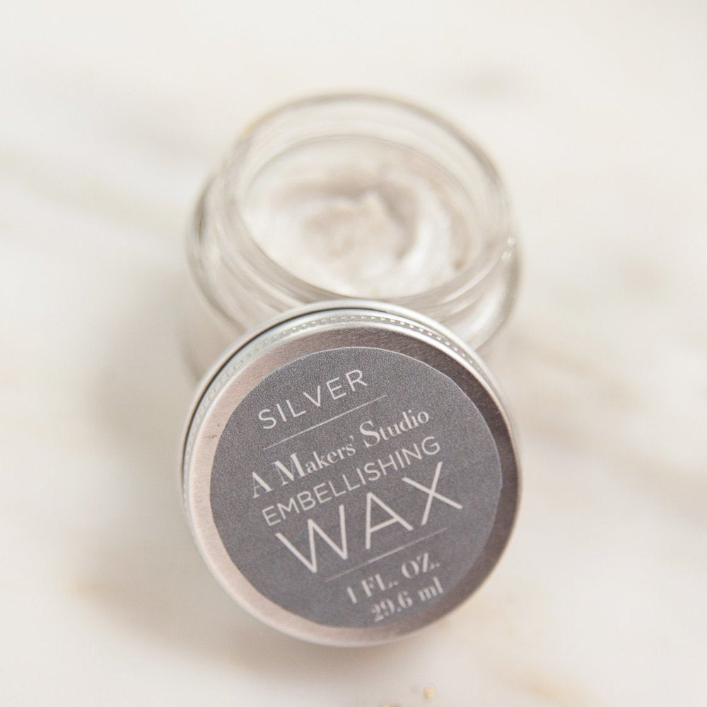 Silver Embellishing Wax