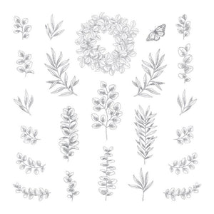 Foliage - Clear Stamp - 12x12