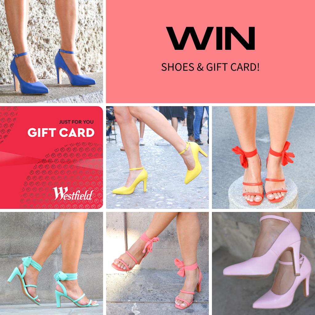 WIN a pair of heels + $200 Westfield gift card