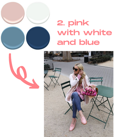 How to style our pink loafers