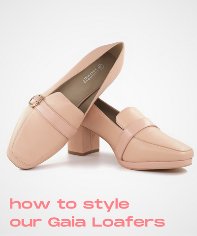 How to style Pink Loafers