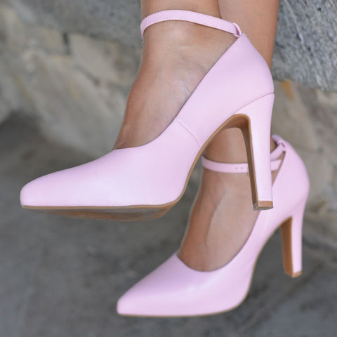 Luminous Assembly Pink High Heels Maya Pump