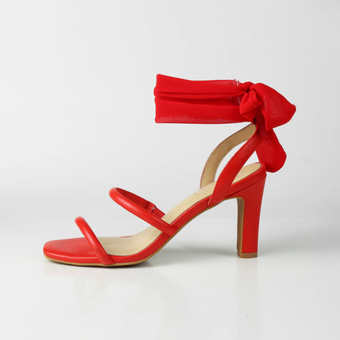 Luminous Assembly Lola Hot Red Sandals