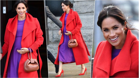 Colour Blocking Megan Markle