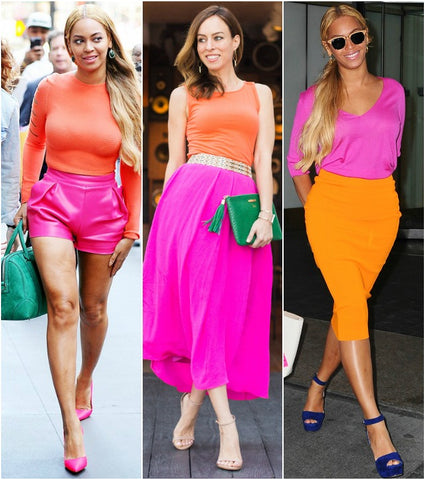 Colour Blocking Beyonce