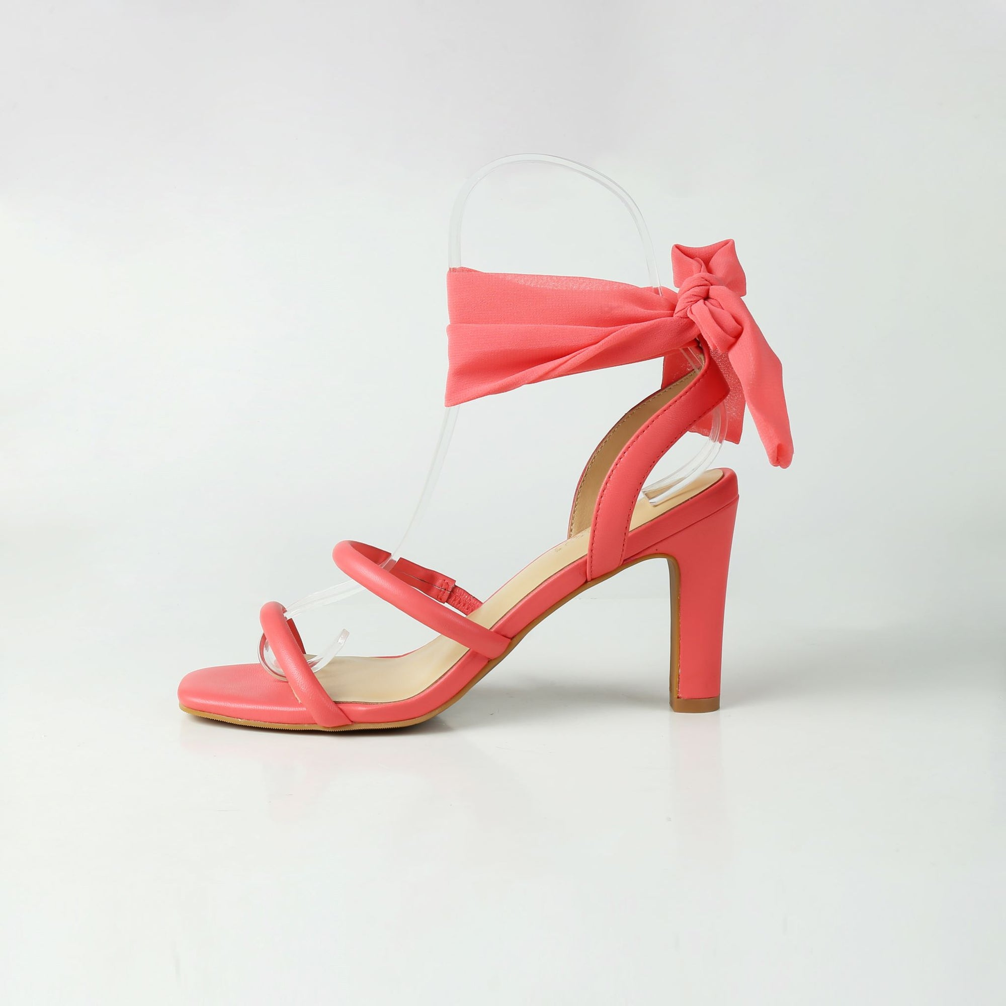 Coral Mid Heel Sandals Luminous Assembly Sale