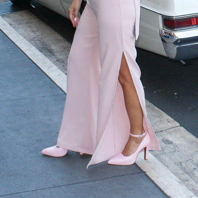 MAYA Blush Pink Pumps