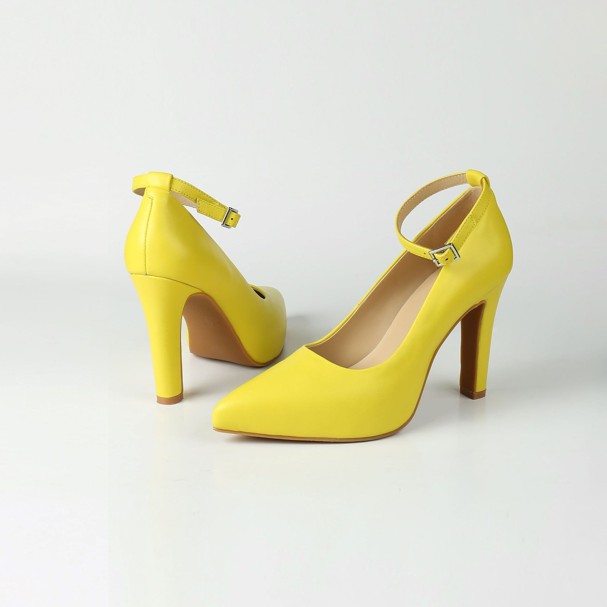 MAYA Sunshine Yellow Pumps