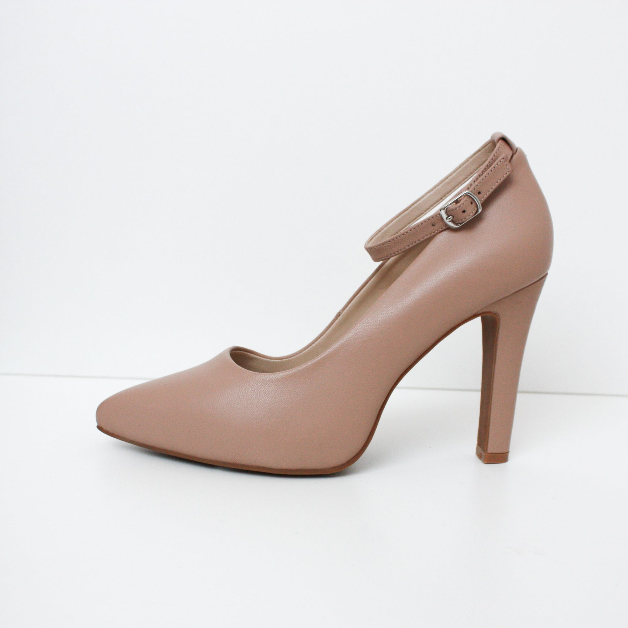 MAYA Nude High Heel Pumps