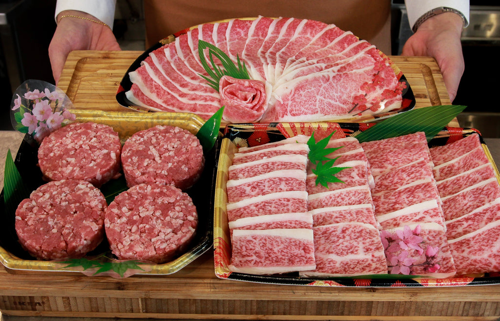 Introducing our Japanese A5 Saroma Halal Wagyu Holiday Sets!